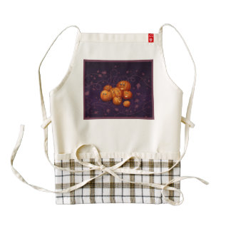 Happy Pumpkins Zazzle HEART Apron