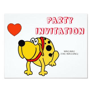 HAPPY PUP INVITATION TO FUN