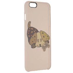 Uncommon iPhone 6 Plus Clearly™ Deflector Case with Cocker Spaniel Phone Cases design