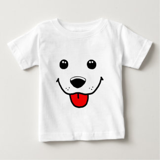 Happy Puppy Face Baby T-Shirt