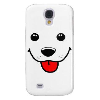 Happy Puppy Face Samsung S4 Case