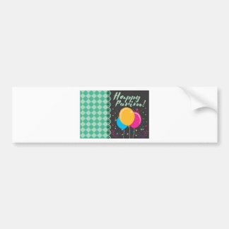 happy purim bumper sticker