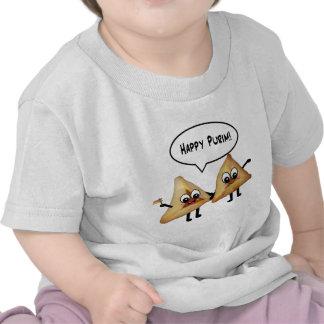 Happy Purim hamantaschen Tee Shirt