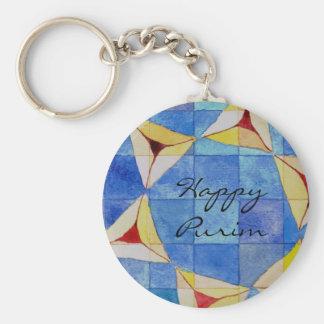 Happy Purim Key Chain