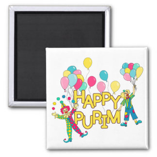 Happy Purim Magnet