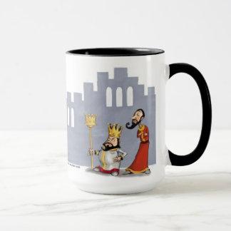 happy purim mug, shushan scene mug