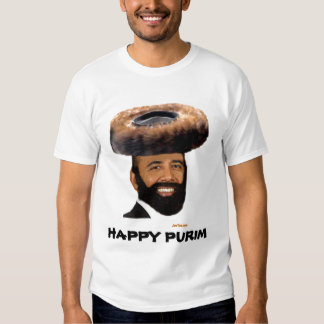 HAPPY PURIM OBAMA SHIRT