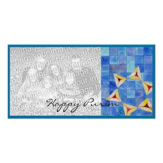 Happy Purim Photo Greeting Card