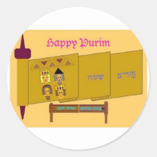 Happy Purim Stickers