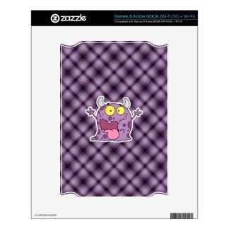 Happy Purple Monster; Purple NOOK Skin