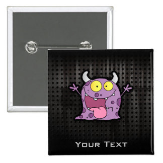 Happy Purple Monster; Rugged Buttons