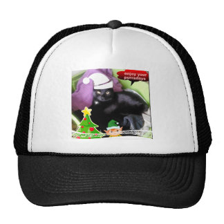 Happy Purraday cute Cat gifts Trucker Hat