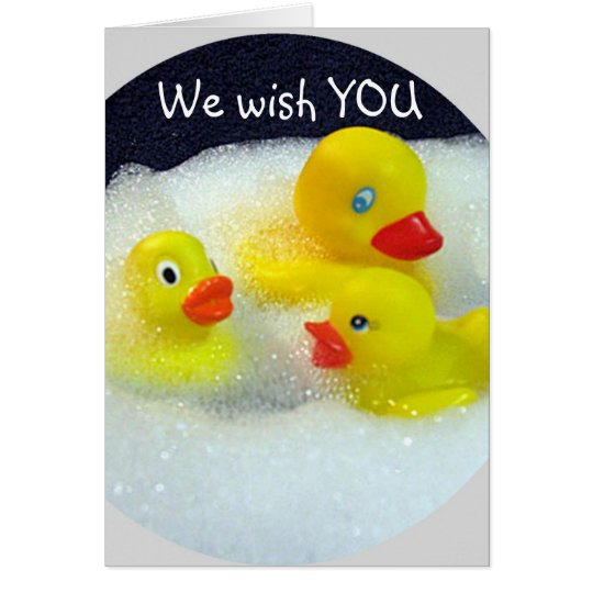 HAPPY QUACKY GROUP CARD FOR 40th