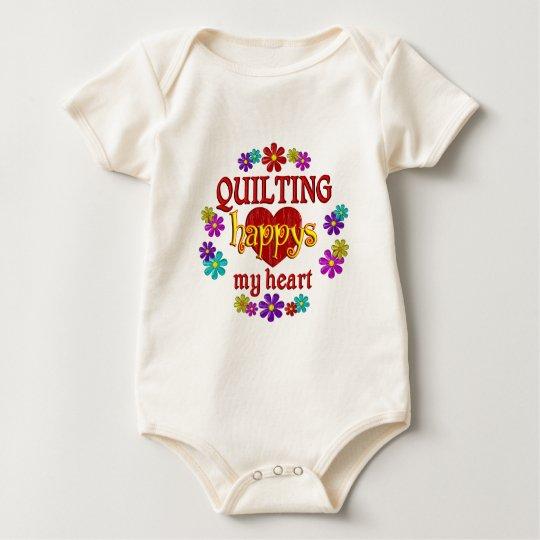 Happy Quilting Baby Bodysuit