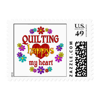 Happy Quilting Postage