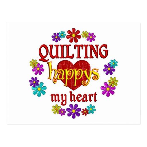 Happy Quilting Postcard