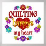 Happy Quilting Print