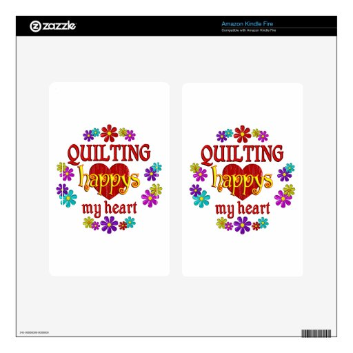 Happy Quilting Skin For Kindle Fire