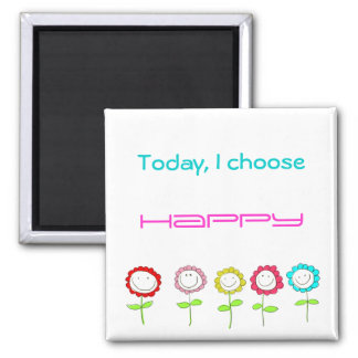 Happy Quote Magnet