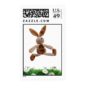 Happy rabbit stamps