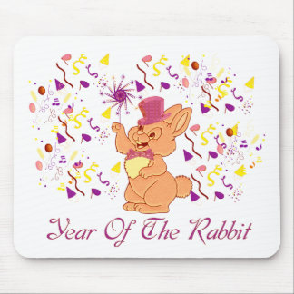 Happy Rabbit Year Mouse Pad