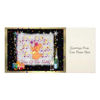 Happy Rabbit Year Photo Cards