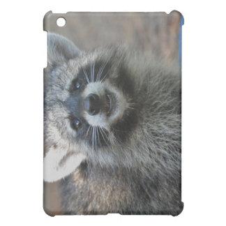 Happy Raccoon on IPad Case