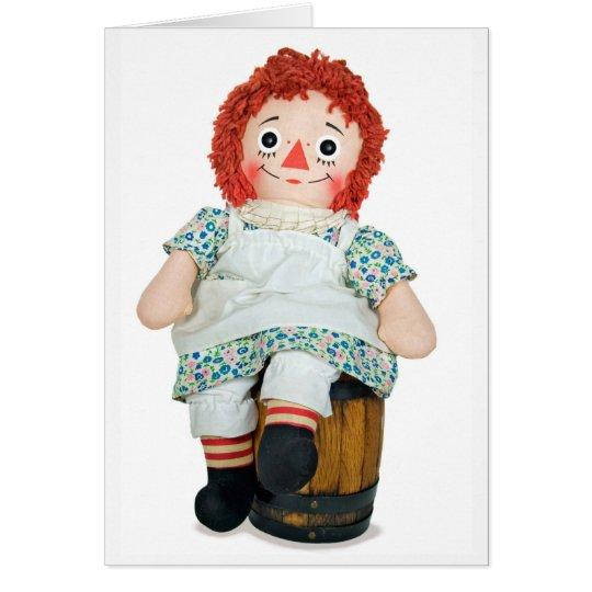 Happy Rag Doll Card