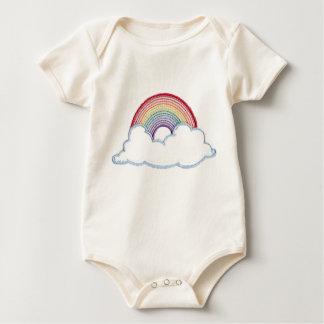 Happy Rainbow Baby Bodysuit