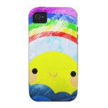 Happy Rainbow Case-Mate iPhone 4 Covers