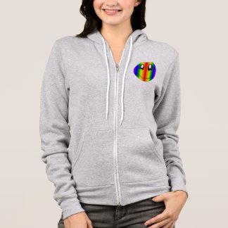Happy Rainbow Face Hoodie