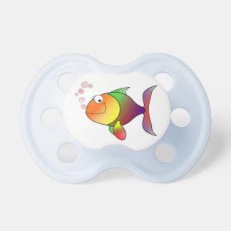 Happy Rainbow Fish Pacifier