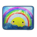 Happy Rainbow MacBook Pro Sleeves