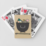 Happy Ramen Bowl Bicycle Playing Cards