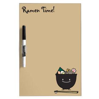 Happy Ramen Bowl Dry-Erase Boards