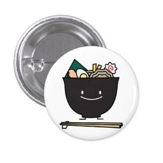 Happy Ramen Bowl Pinback Button