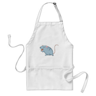 Happy Rat Adult Apron