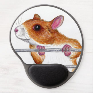 happy rat gel mousepad