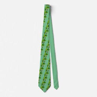 Happy rattlesnake neck tie