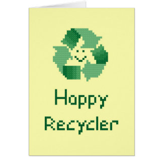 Happy Recycler Card