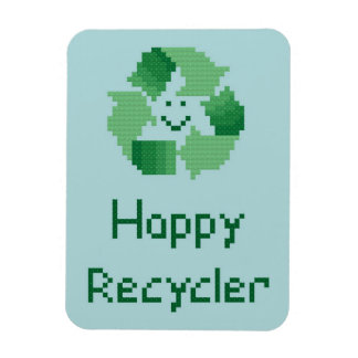 Happy Recycler Flexible Magnet