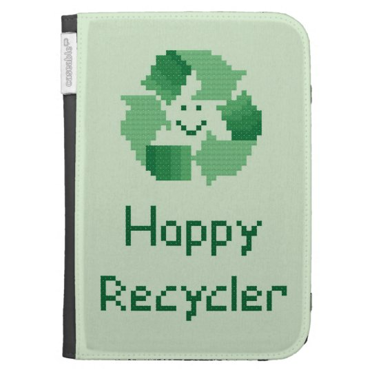 Happy Recycler Kindle Case