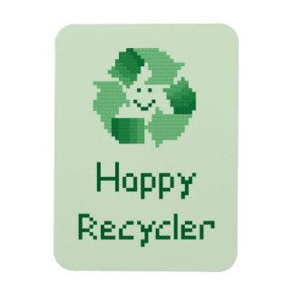 Happy Recycler Magnet