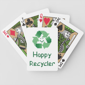 Happy Recycler Playing Cards