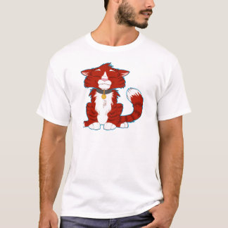 Happy Red Cat T-Shirt