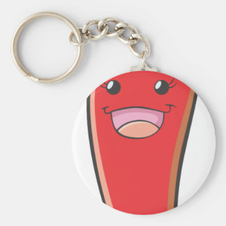 Happy Red Chili Lady Vegetable Keychain