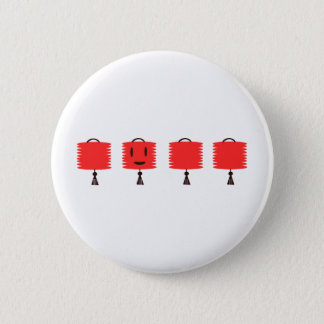 Happy Red Lanterns Pinback Button
