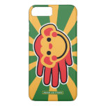 Hand shaped Happy Red Monkey Smiley Face iPhone 7 Plus Case