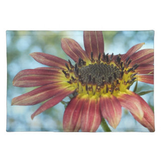 Happy Red Sunflower Place Mat