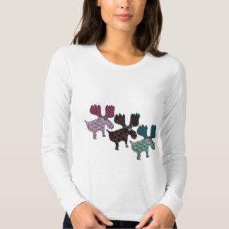 Happy Reindeer Tee Shirt